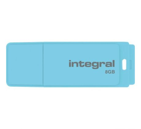 Flash disk 8GB USB 2.0 Integral Pastel, Blue Sky
