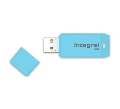 Flash disk 16GB USB 2.0 Integral Pastel, Blue Sky