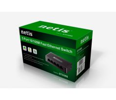 Switch Netis Desktop ST3105S 10/100Mbps, 5x LAN
