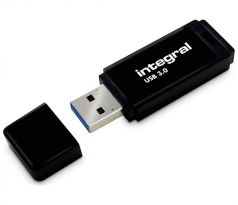 Flash disk 64GB USB 3.0 Integral Black, černý
