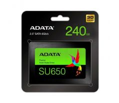 "Disk SSD 240GB 2,5"" SATA III ADATA Ultimate SU650, 3D NAND, SLC, 7mm"