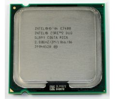 Procesor Intel Core2 Duo E7400 2,8GHz, socket 775, 64bit, 65W