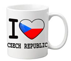 Hrnek ČR – I love Czech Republic